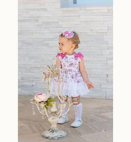 Jesusito bebé estampado floral de Dolce Petit | Aiana Larocca
