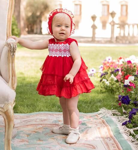 Jesusito bebe rojo de Dolce Petit | Aiana Larocca