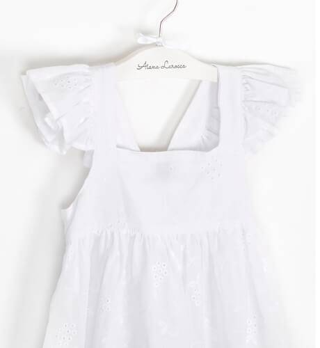Vestido caftán blanco de José Varón | Aiana Larocca