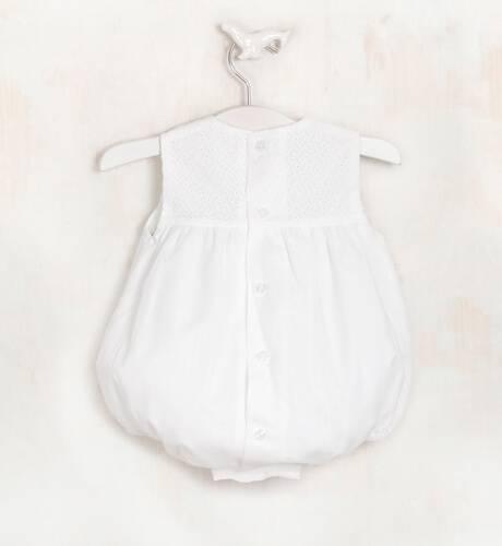 Ranita cuerpo bordado color crudo de Yoedu | Aiana Larocca