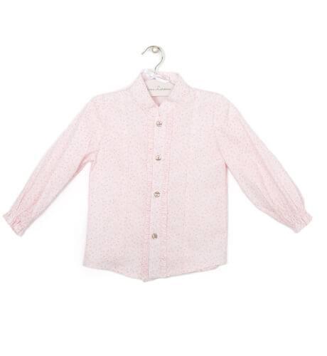 Camisa estampada rosa | Aiana Larocca