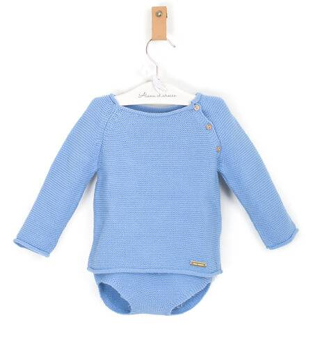 Conjunto jersey braguita azul de César Blanco | Aiana Larocca