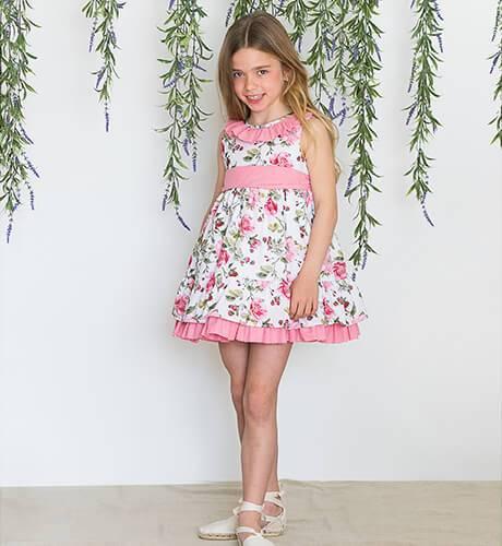 Vestido estampado flores de Blanca Valiente | Aiana Larocca
