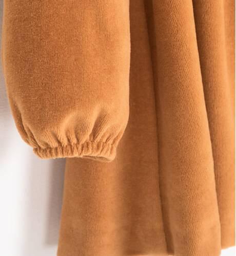 Vestido velveton lazo espalda de Nekenia | Aiana Larocca