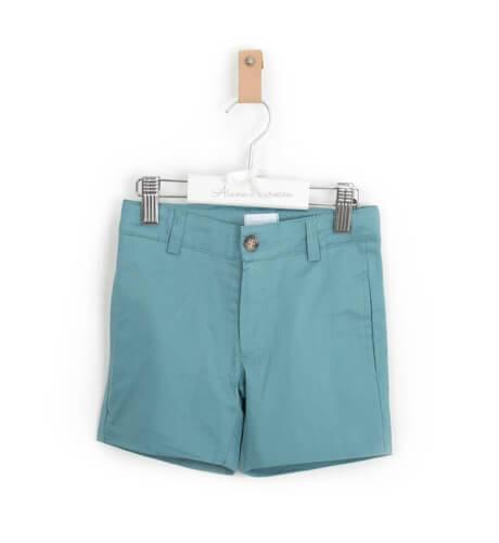 Pantalón corto niño verde | Aiana Larocca