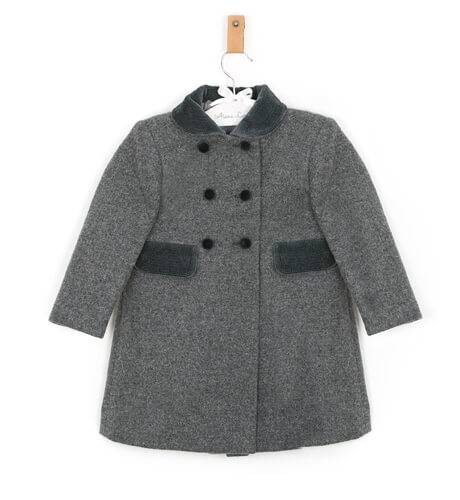 Abrigo inglés unisex gris de Rigans | Aiana Larocca