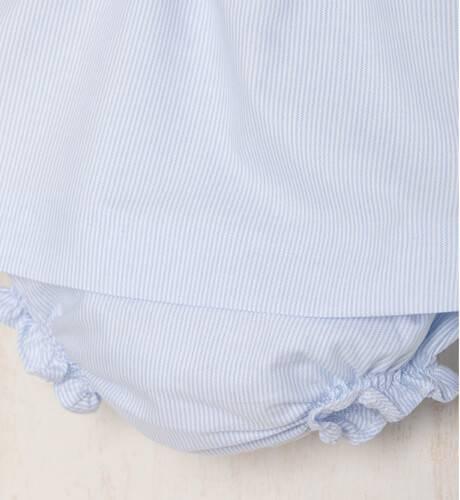 Jesusito bebé marinero azul y blanco & capota de Yoedu | Aiana Larocca