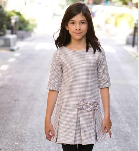 Vestido niña talle bajo de Lovely day | Aiana Larocca