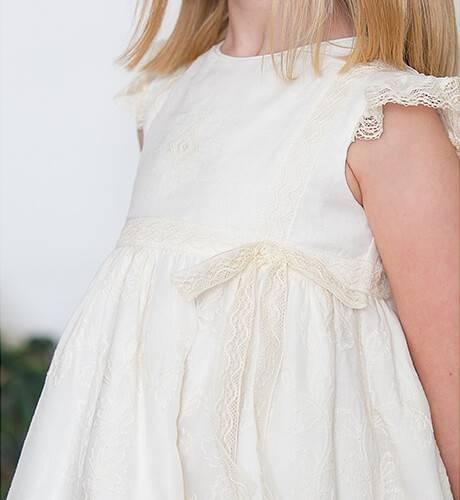 Vestido ceremonia tul bordado de Rochy   Aiana Larocca