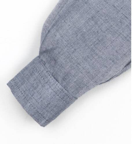 Camisa niño azul denim de Fina Ejerique   Aiana Larocca