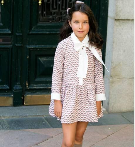 Vestido niña Zig-Zag de Rochy | Aiana Larocca