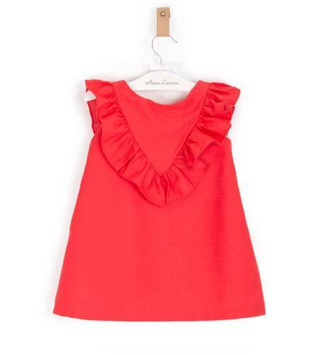 -NUEVO- Vestido niña rojo de Rochy | Aiana Larocca