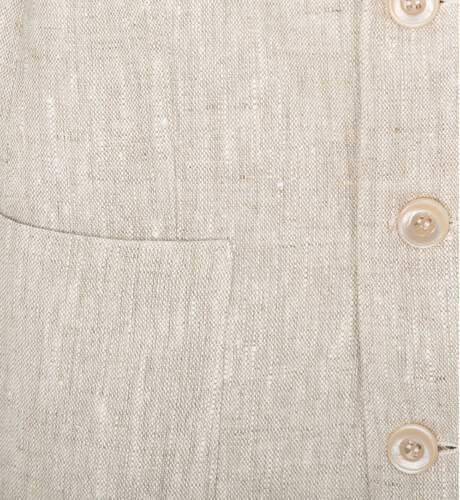 Conjunto niño chaqueta y pantalón corto en lino de Dolce Petit | Aiana Larocca