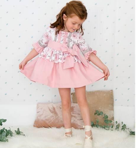 -NUEVO- Vestido niña estampado floral con mangas de Nekenia | Aiana Larocca
