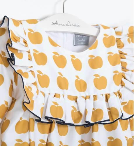 Vestido manzanitas de Mon Petit Bonbón | Aiana Larocca