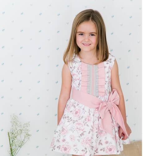 -NUEVO- Vestido niña estampado floral de Nekenia | Aiana Larocca