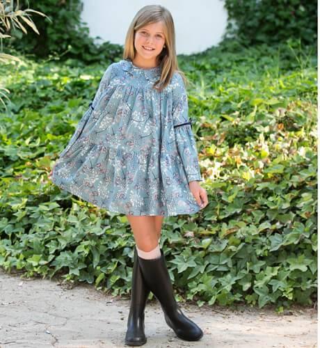 Vestido estampado verde de Rochy | Aiana Larocca
