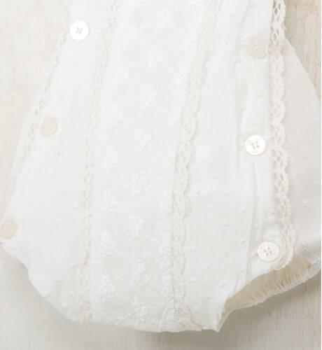 Ranita bebé tirantes color crudo de Dolce Petit | Aiana Larocca