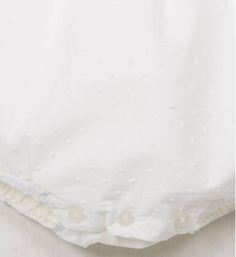 Ranita bebé manga corta de Dolce Petit | Aiana Larocca