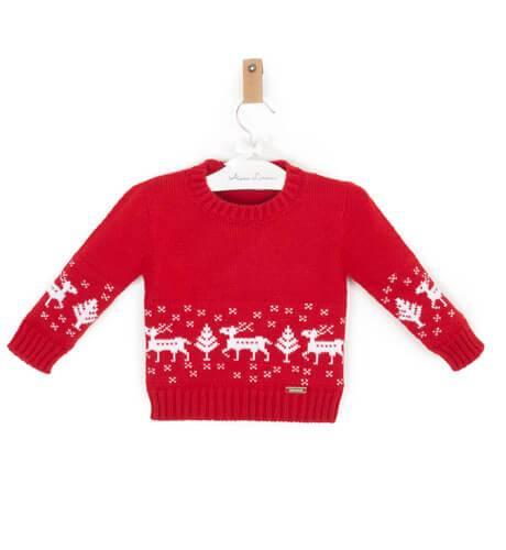 Jersey rojo navidad nino