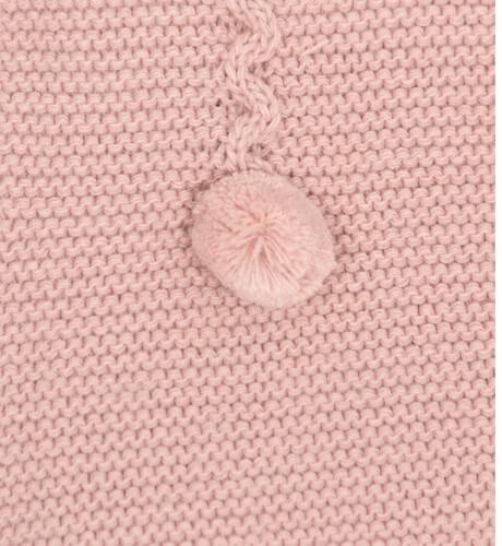 Chaqueta bebé detalle pompones | Aiana Larocca