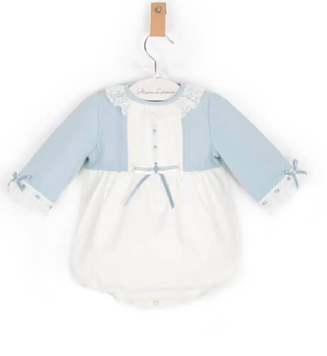 Ranita bebe combinada en azul de Dolce Petit | Aiana Larocca
