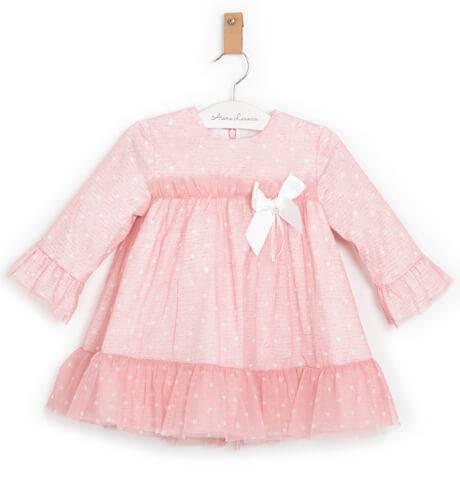 Vestido rosa tul estrellitas de Marta y Paula | Aiana Larocca