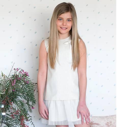 Vestido niña talle bajo Eve Children | Aiana Larocca