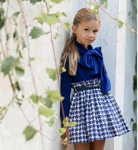 Vestido combinado punto de Nekenia | Aiana Larocca