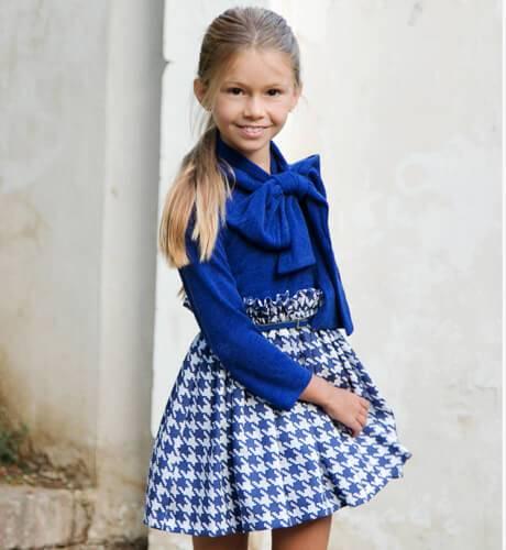 Vestido combinado punto de Nekenia   Aiana Larocca
