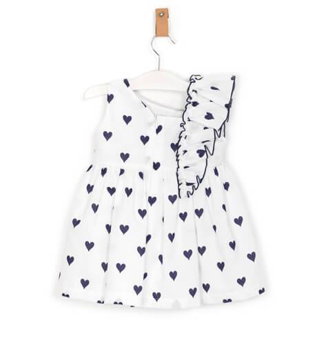 Vestido corazones de Mon Petit Bonbon | Aiana Larocca