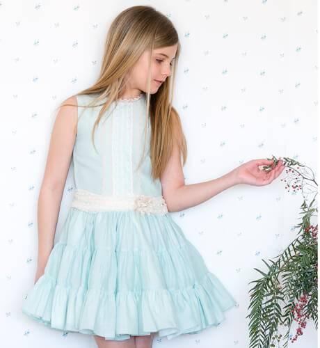 -NUEVO- Vestido verde de Loan Bor | Aiana Larocca