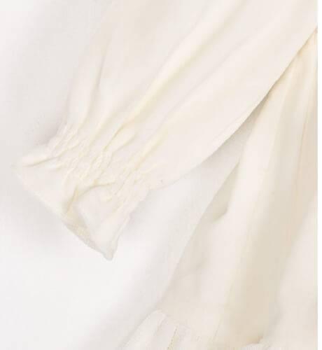 Vestido terciopelo crudo de Foque | Aiana Larocca