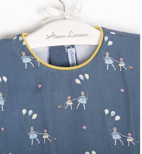 Vestido niña estampado globos de Ancar | Aiana Larocca