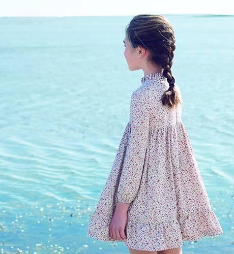 Vestido niña estampado liberty Rose de Eve Children | Aiana Larocca