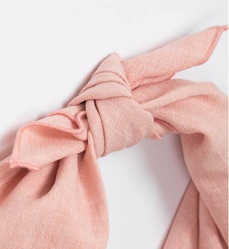 Turbante rosa de Eve Children   Aiana Larocca