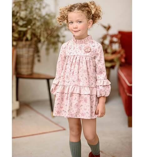 Vestido estampado liberty rosa de Yoedu | Aiana Larocca