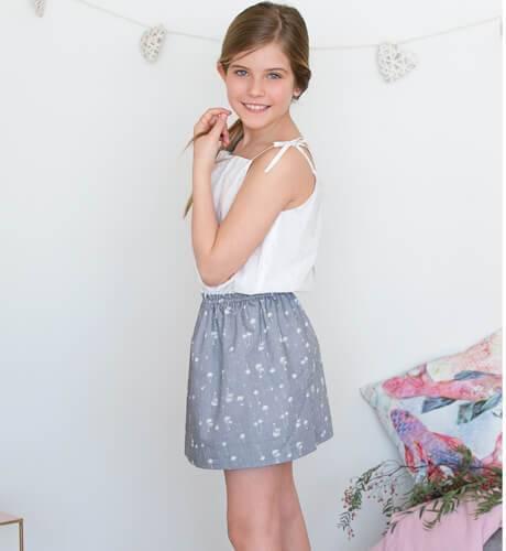 -NUEVO- Vestido Falda palmeras de Ancar | Aiana Larocca