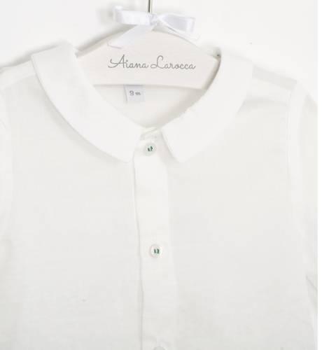 Camisa blanca bebé de Fina Ejerique | Aiana Larocca