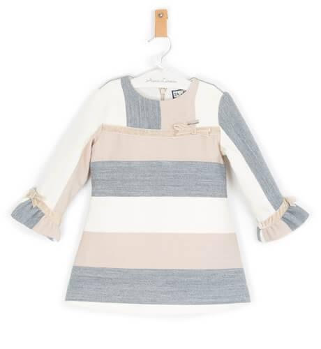 Vestido niña a rayas horizontal de Nekenia | Aiana Larocca