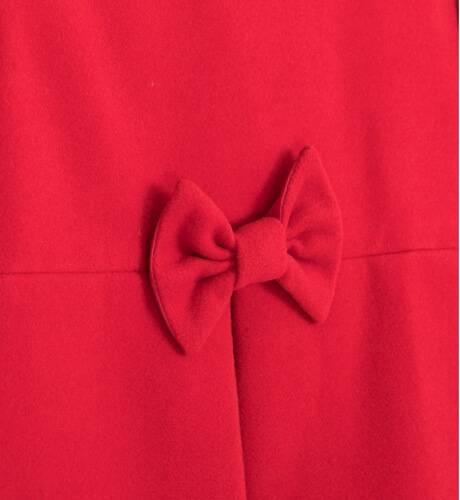 Abrigo niña muflon rojo de Nekenia | Aiana Larocca
