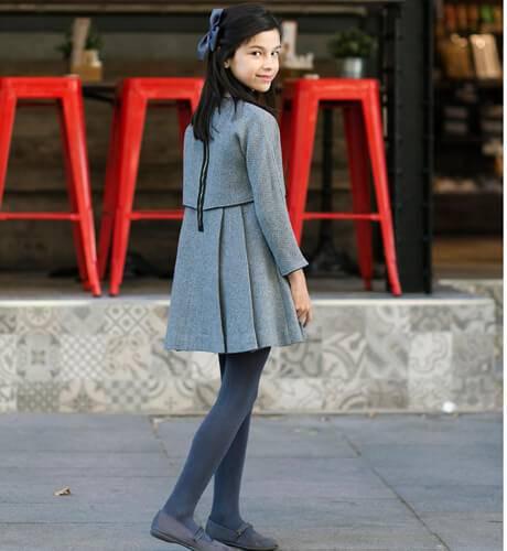 Vestido niña Lola de Nueces Kids   Aiana Larocca