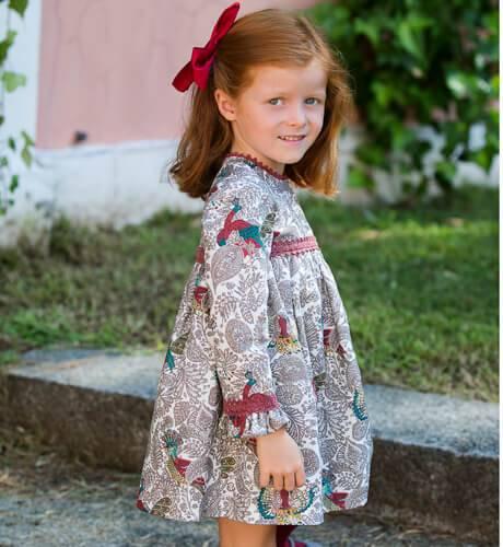 Vestido estampado de Cocote | Aiana Larocca