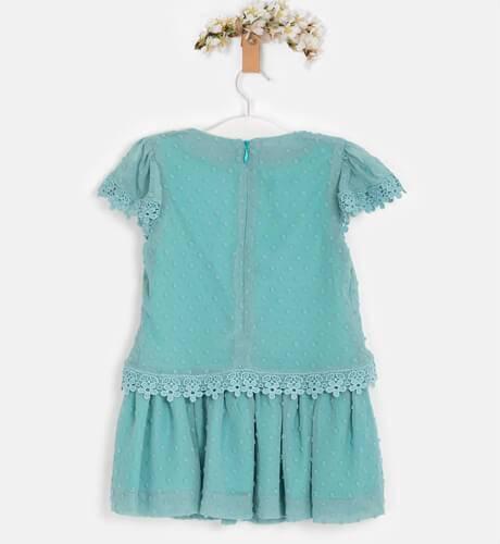 Vestido plumeti verde de Nekenia | Aiana Larocca