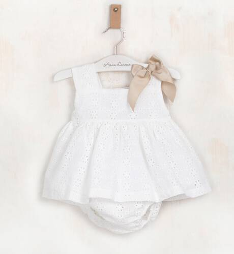Jesusito bebe bordado tirantes ancho de Valentina Bebes | Aiana Larocca