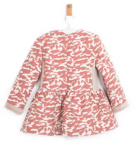 Vestido niña estampado manchas rosa de Nekenia | Aiana Larocca