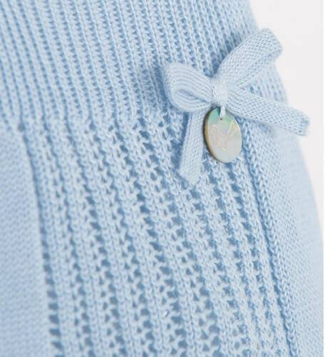 Body bebé punto azul de Punto Solita | Aiana Larocca