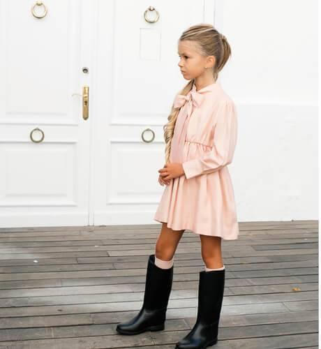 Vestido Anna de Nueces Kids   Aiana Larocca