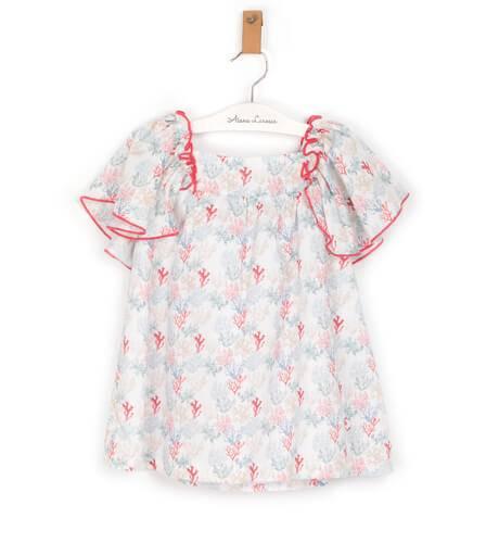 Vestido estampado corales de Eve Children | Aiana Larocca