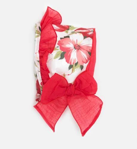 Jesusito estampado floral rojo & DBB Collection | Aiana Larocca